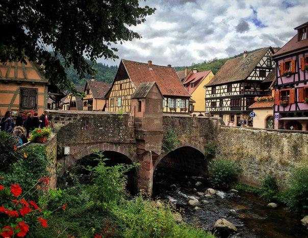 Kaysersberg (Кайзерберг), Эльзас, Франция