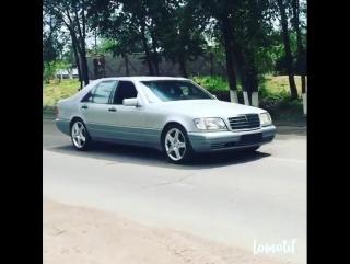 Mercedes-Benz W140 Gangsta Trip