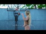 Bikini Girls Playing Basketball | VK.COM/VINETORT