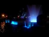 Кольцовский сквер, цветной фонтан ))