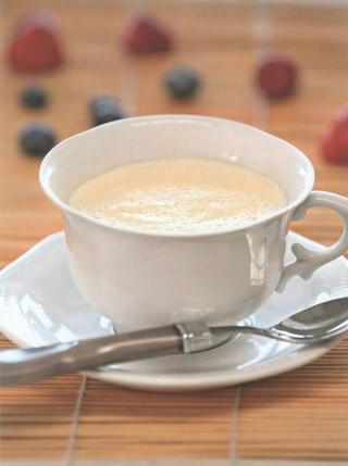 Фото рецепта: Молочно-желтковый кисель