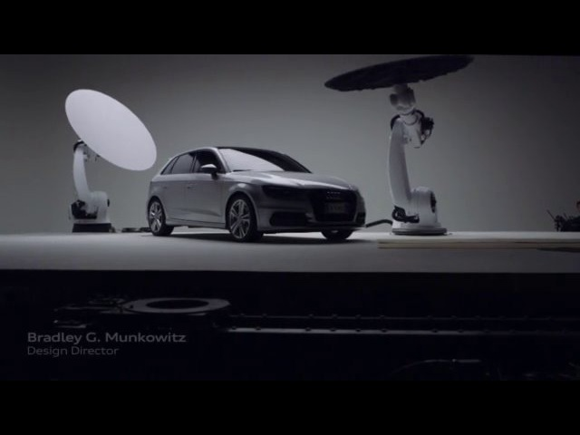 Audi A3 Sportback. Welcome Tomorrow. Visual effects Case History