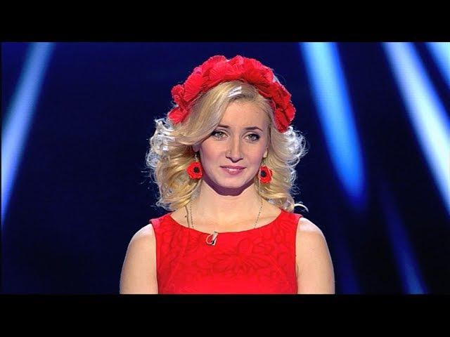 Марія Горобцова Веснянки - Голос Країни - Вибір наосліп - Сезон 4