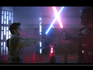 Star Wars Heats Up Hong Kong Times Square