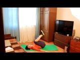 Упражнения против целлюлита на коленях