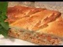 Рыбный пирог с сёмгой Царский .