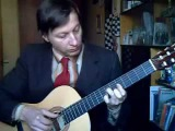 Марш ''Прощание славянки'' на классической гитаре 2012