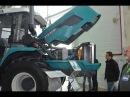 Колесный трактор ХТЗ-240к. Выставка АГРОПОРТ-2014.