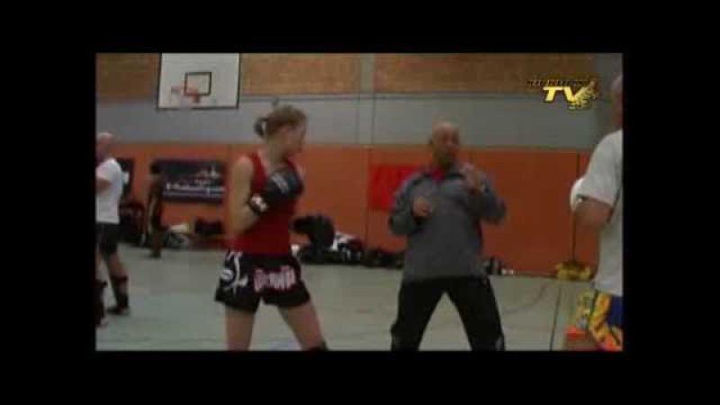 Badr Hari seminar part 2 7 Kickboxing