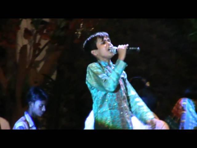 Tanmay performing in Ganesh Utsav in Lucknow ...