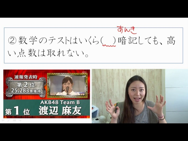 Learn Japanese JLPT N2 文字語彙 実践問題 3/18 [Learn Japanese for Free]