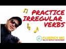 Learn and Speak English Irregular Verbs INSTRUMENTAL Rap Song-Stick, Stuck, Stuck-with Fluency MC