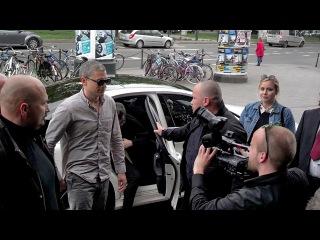 Wentworth Miller arrives at Kino Kijów during PKO Off Camera 2015