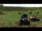 ATV Saltov 12  Yamaha Grizzly 660, BRP Outlander 650, RBC 1100
