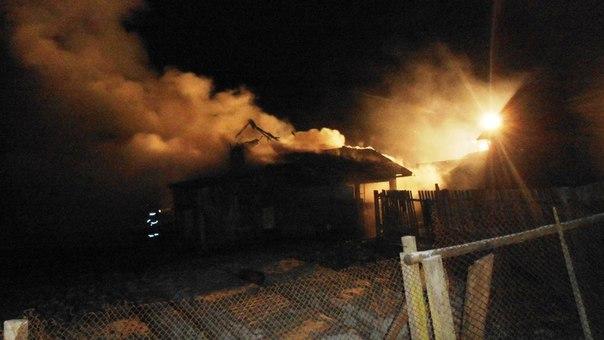 В Борисовском районе на пожаре погибли отец и сын