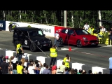 B U N K E R +18 Mercedes-Beng G 63 AMG vs Porsche Cayenne Turbo S