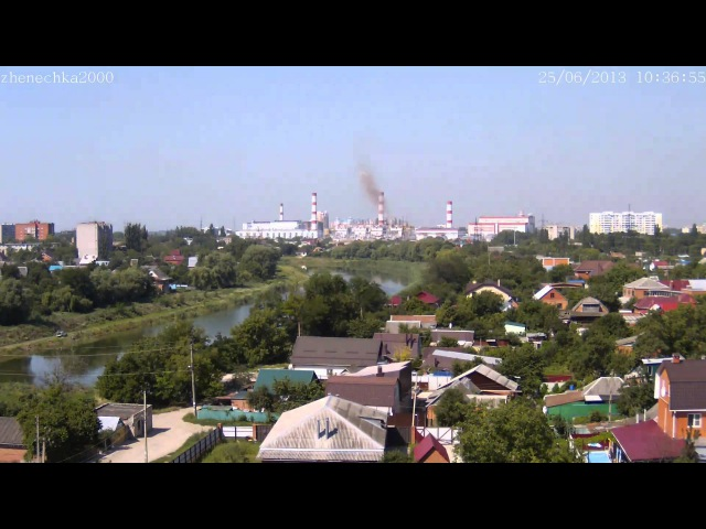 Краснодарская ТЭЦ. Аварийный сброс 25.06.2013