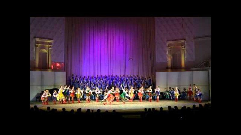 Русский танец Девичий перепляс Ансамбль Локтева 01 05 2012