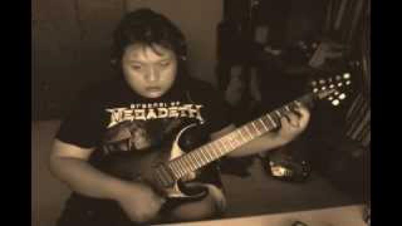 Guitar Ballad Solo Improvisation in the style of Prince - Purple Rain