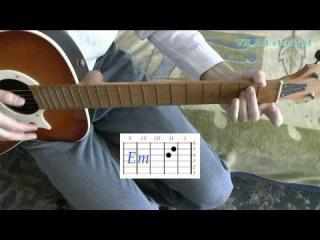 Аккорды А.Макаревич Поворот (Машина времени) разбор на гитаре (видеоурок)