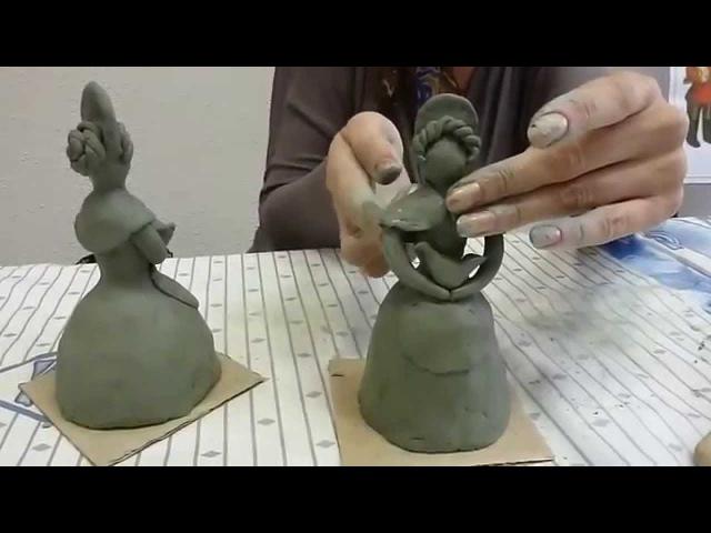 Кто делает поделки из глины