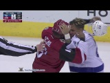 J.T. Brown vs Anthony Duclair Mar 19, 2016