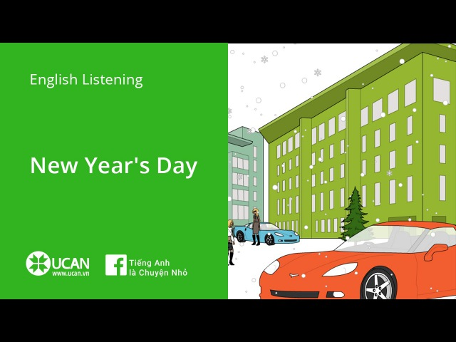 Learn English Listening | Elementary - Lesson 4. New Year's Day