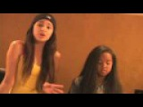 Jasmine Villegas &amp Gabi Wilson singing Bleeding Love