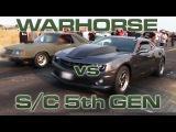 WARHORSE vs LSA Camaro  - HeadsUp Muscle Shootout - SEMI FINAL