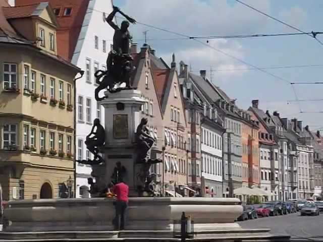 Augsburg, Germany: A historic city in Bavaria