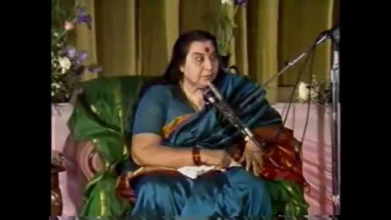 Речь Шри Матаджи перед Пуджа Шри ВишнуМайе 1987 г. - 1 Часть