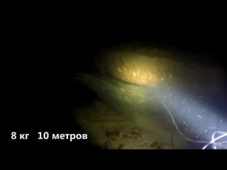 Подводная охота. Охота на сома 2016 Spearfishing on catfish