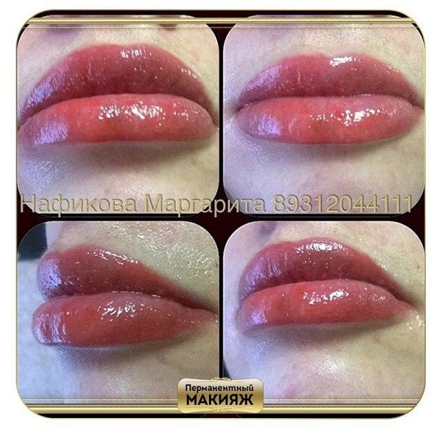 Фото макияжа для губ для цветов