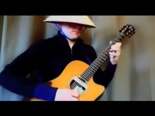 Виртуозная игра на гитаре ! Очень красивая музыка ))