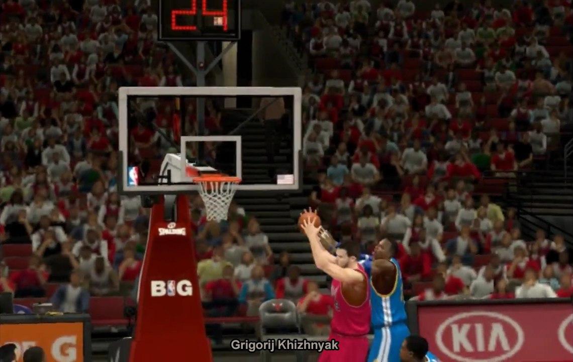 Григорий Николаевич Хижняк в НБА2К14