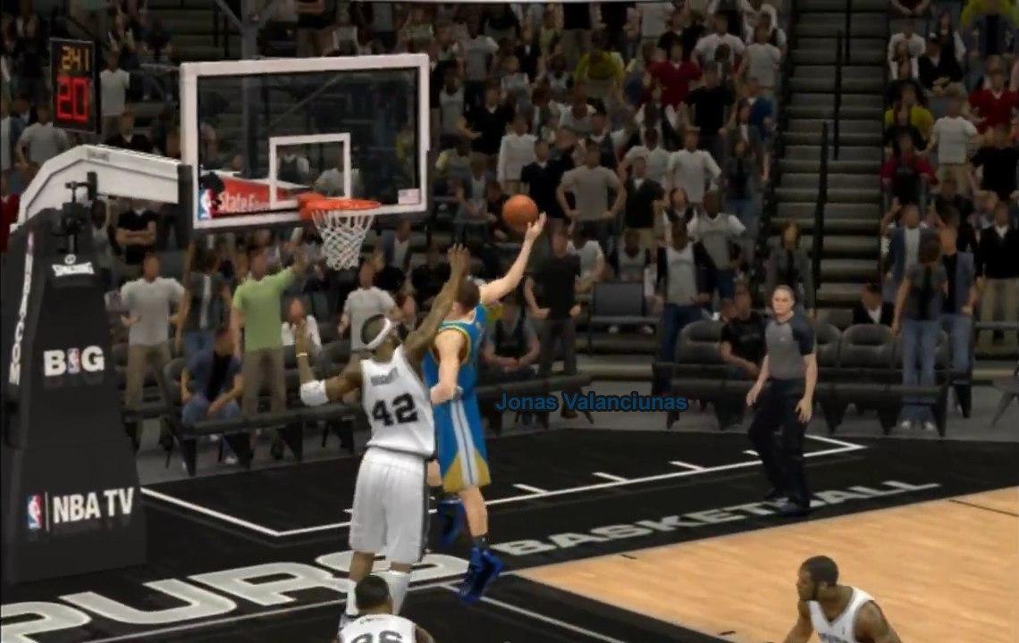 Йонас Валанчюнас в НБА2К14