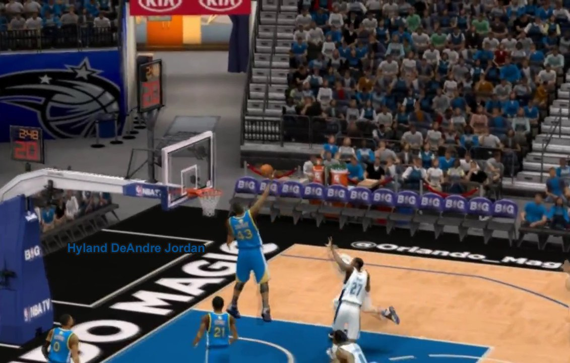 Hyland DeAndre Jordan NBA2K14