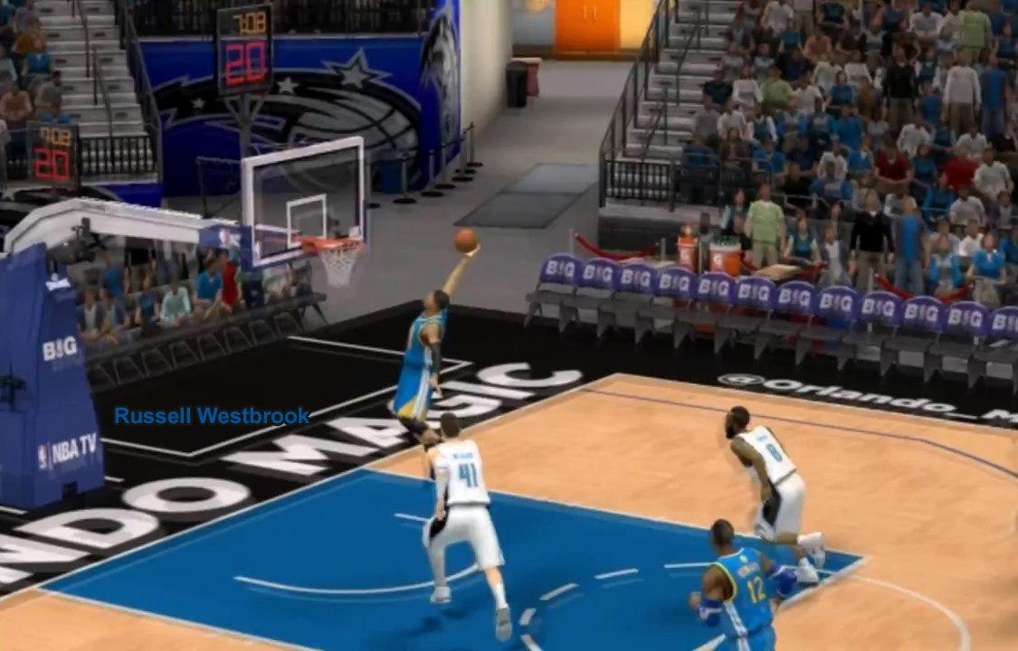 Russell Westbrook NBA2K14