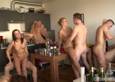 CZECH HOME ORGY 9 - PART 7