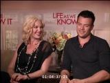 Жизнь, как она есть/Life as We Know It (2010) Интервью с Кэтрин Хайгл и Джошем Дюамелем. Часть 1