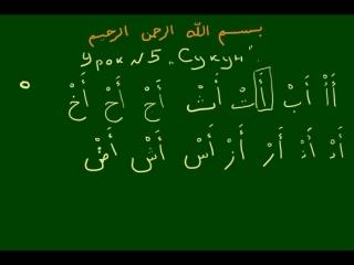 Правила чтения Корана - Урок 5 Сукун