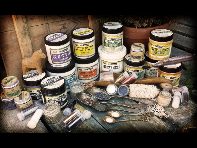Art Files: All About Art Basics - Gels and Pastes