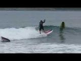 Sup surfing in Russia. Сап серфинг в России