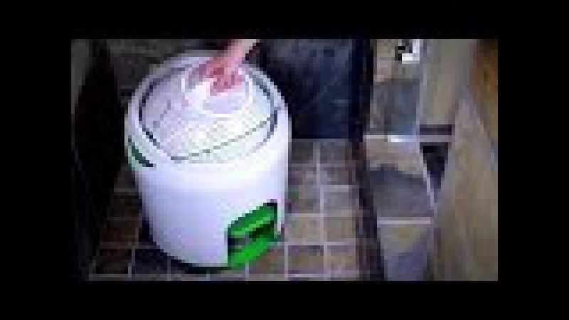 Стиральная машина с педальным приводом | The Drumi Off Grid Foot Powered Washer | YiREGO