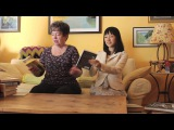 Marie Kondo Organizes a Bookshelf