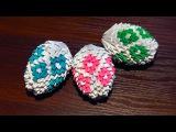 Модульное оригами яйцо Пасхальное схема сборки