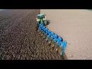 Ploughing w/ John Deere 8360R 9 furrow Lemken Diamant 12 | ERF B.V. | Pflügen