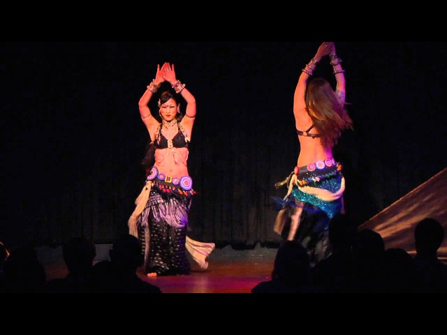 Kami Kae Duet - Menage Part Two: Tribal Style Belly Dance