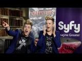 SyFy UK - Jedward announce Sharknado 3 Oh Hell No!