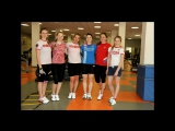 Тренировки по физподготовке женской сборной России по горнолыжному спорту в УТЦ
